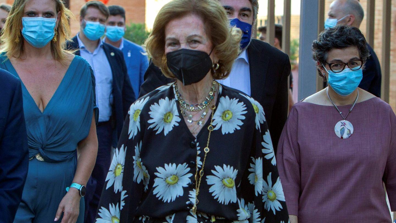 La reina Sofía en Mérida. (EFE)