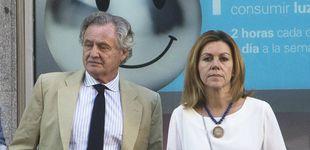 Post de María Dolores de Cospedal (y su mala pata) en el funeral de Fernando Domecq