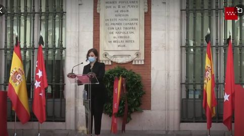 Acto institucional de Isabel Díaz Ayuso por el día de la Comunidad de Madrid