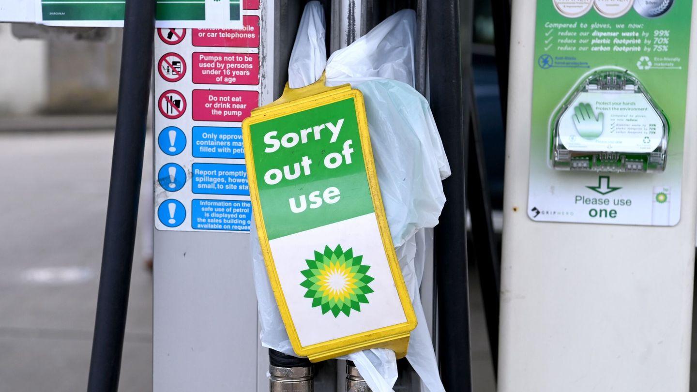 Gasolinera en Reino Unido. (Reuters)