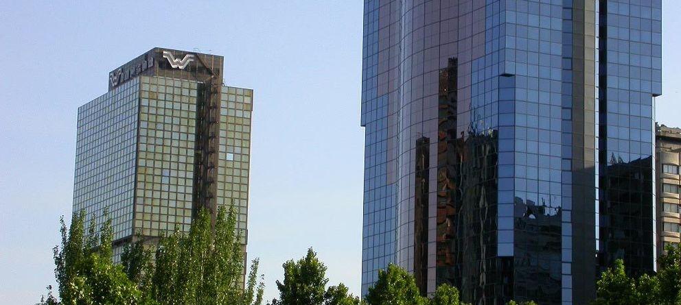 Foto: Imagen del desaparecido edificio Windsor, símbolo del emporio inmobiliario de los Reyzábal