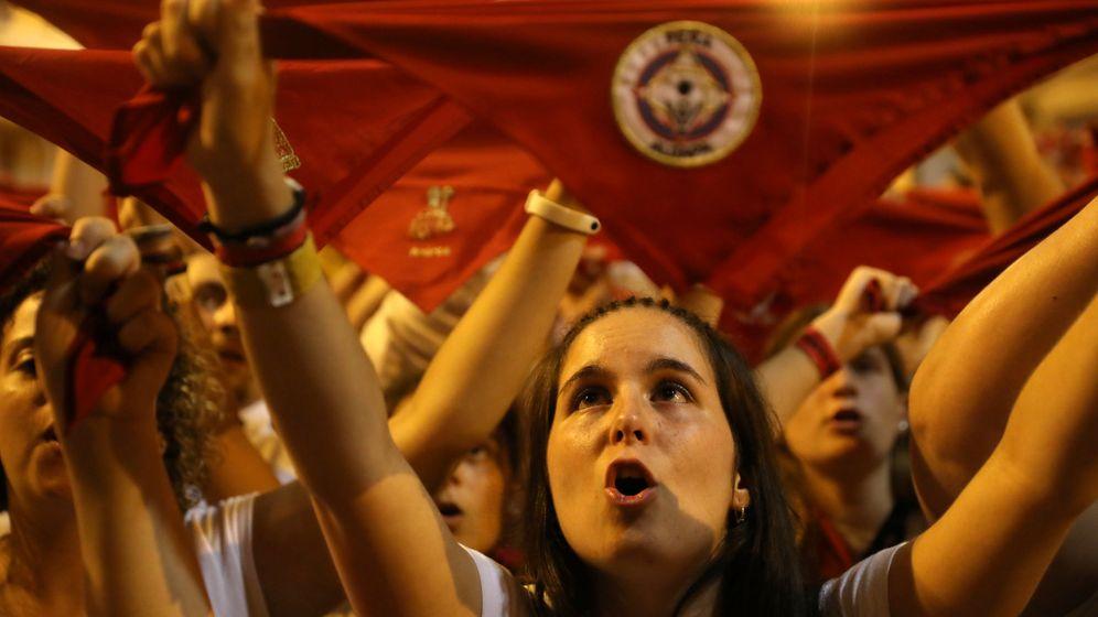 Foto: Fin de San Fermín en 2018 (Reuters)