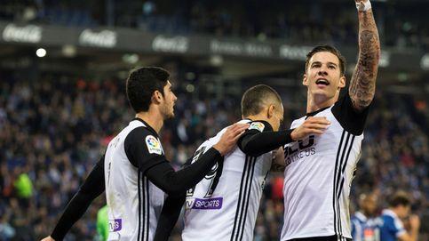 El Valencia aplica la receta de Simeone para meter miedo a Barcelona y Madrid