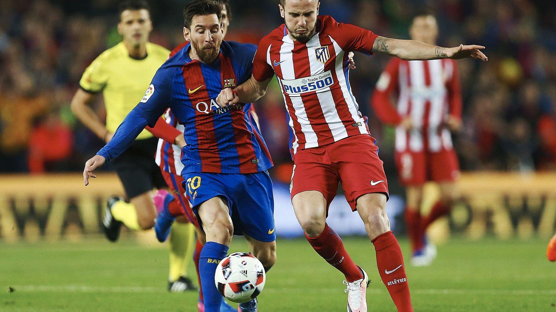 El Barcelona adquirió un derecho de tanteo sobre Saúl en el acuerdo de traspaso de Villa al Atlético. (EFE)