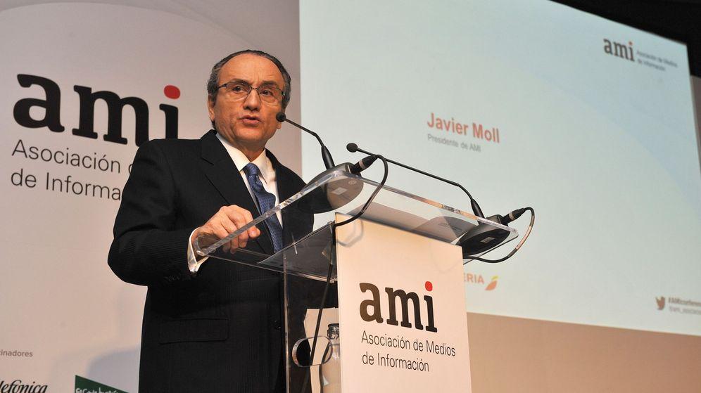 Foto: El presidente de Prensa Ibérica, Javier Moll. (EFE)