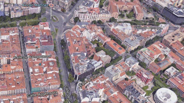 El barrio de Justicia. (Maps)