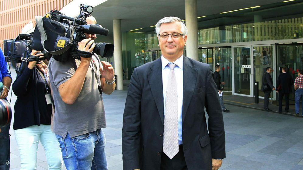 Foto: El ex director general de Prisiones y de los Mossos d'Esquadra Xavier Martorell. (EFE)