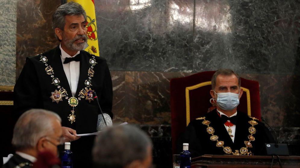 Foto: Carlos Lesmes y Felipe VI. (EFE)