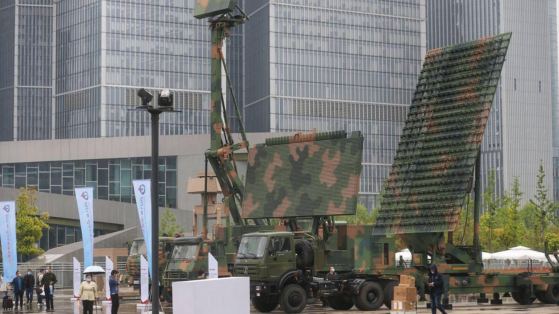 El supuesto cazador de aviones invisibles en la novena feria mundial de tecnología de radar