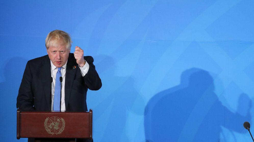 Foto: El primer ministro Boris Johnson en Nueva York. (Reuters)