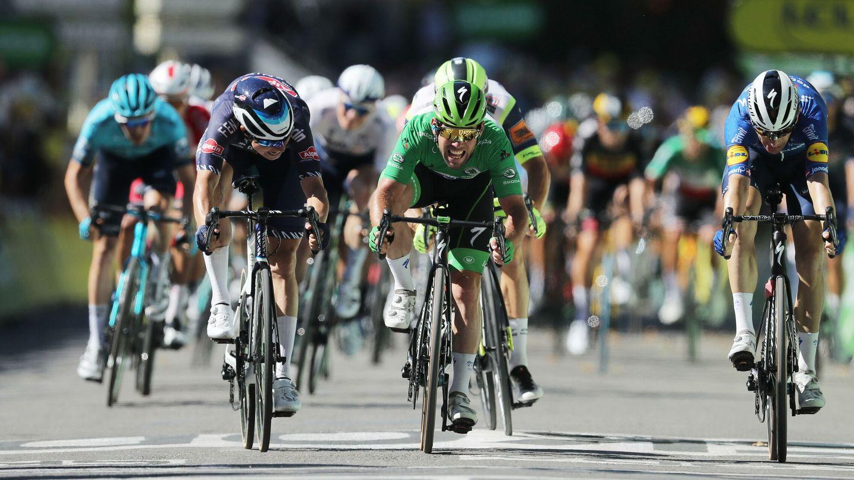 Imagen del 'sprint'. (EFE)