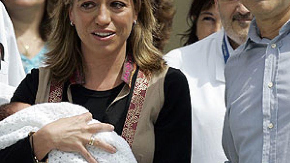 El lado más familiar de la ministra Carme Chacón