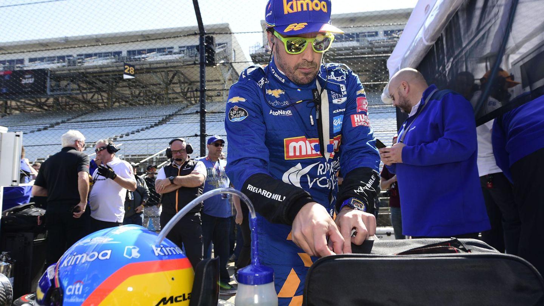 Fernando Alonso participa este año por segunda vez en las 500 Millas de Indianápolis. (USA TODAY Sports)