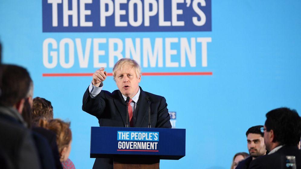 Foto: El 'premier' conservador Boris Johnson. (EFE)