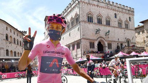 Egan Bernal rompe el Giro: voló sobre el 'sterrato' hasta descolgar a Evenepoel