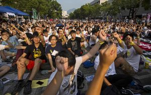 Hong Kong y la democracia que no llega: estudiantes toman la calle