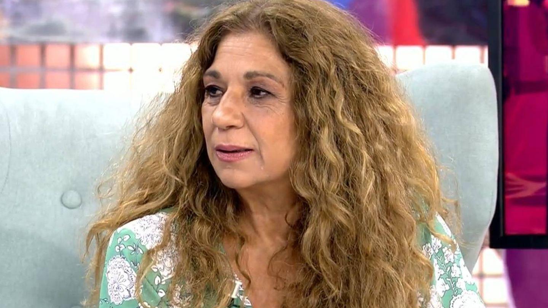 Lolita Flores, en 'Sábado Deluxe'. (Telecinco)