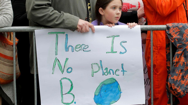 Foto: Celebración del Día de la Tierra en Central Park de Nueva York (REUTERS)