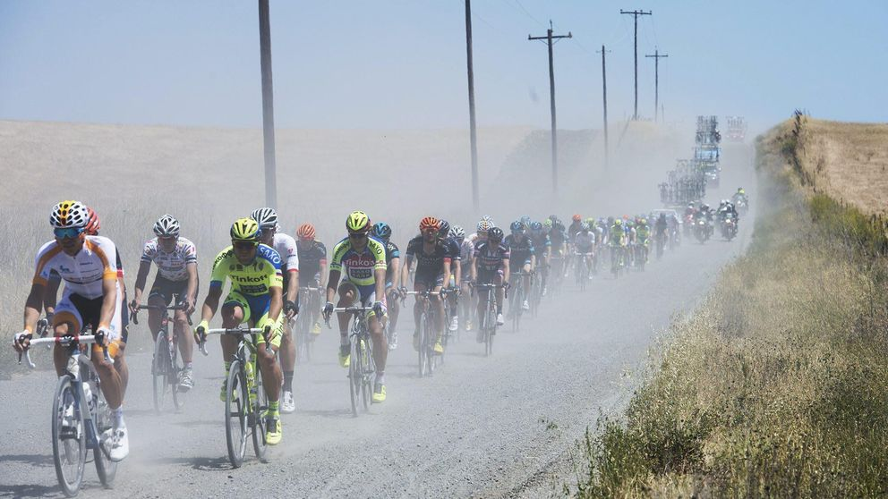 La sequía deja casi sin agua al Tour de California, la competencia del Giro