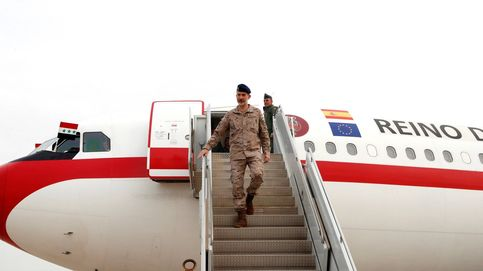 Felipe VI celebra su cumpleaños visitando en Irak a las tropas españolas