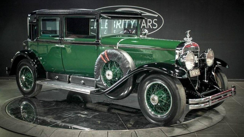 Un Cadillac blindado de 1928 que pudo pertenecer a Al Capone, a la venta