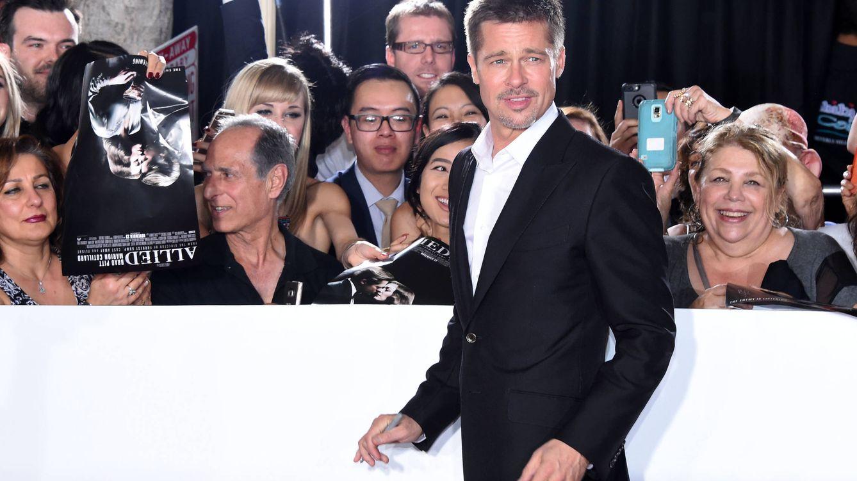 Foto: Brad Pitt en la premiere de 'Aliados' (Gtres)