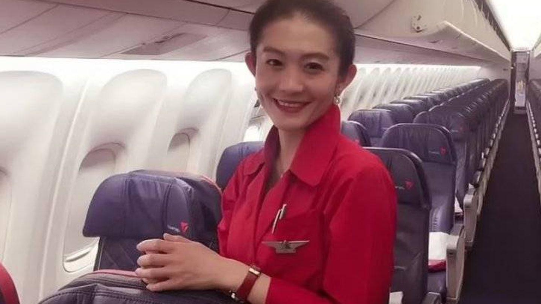 Zhe 'Shelly' Wang, en una imagen de sus redes sociales. (Weibo)