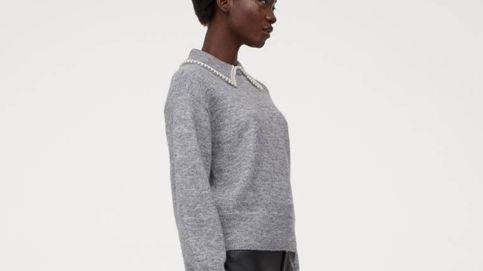 Triunfa más allá de las mangas abullonadas con un jersey de H&M de cuello glam