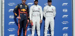 Post de Resultado F1: pole de Hamilton, naufragio de Ferrari y séptimo puesto de Carlos Sainz