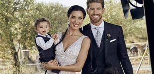 Post de Pilar Rubio, Sergio Ramos y su tres hijos: nuevo posado tras la boda