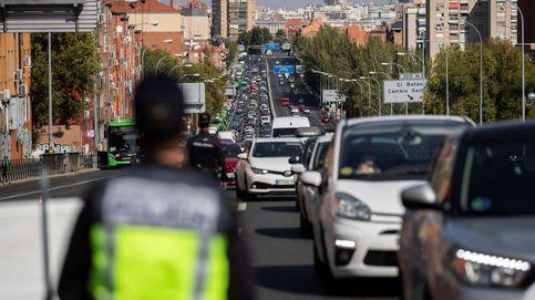 Dificultades de salida en Madrid en tramos de la A-1 y la A-4