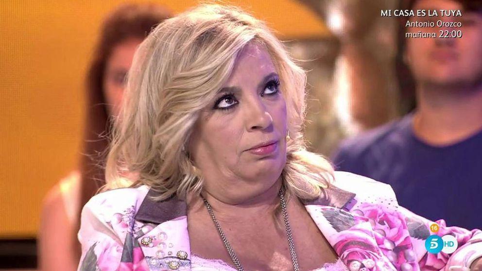 Carmen Borrego saca las uñas por Bigote: Para sucia en 'SV' ya está Leticia
