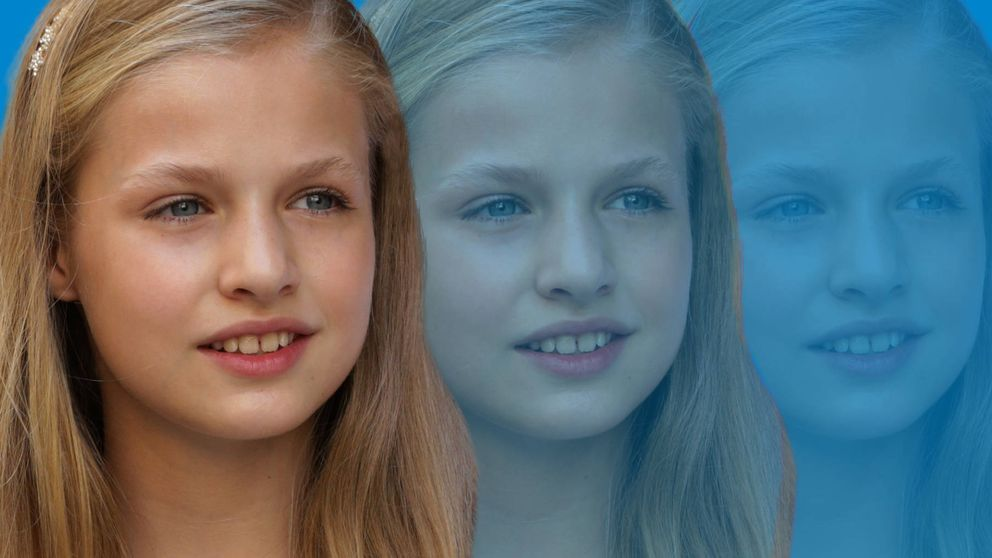 La princesa de Asturias y su hermana Sofía, las escolares invisibles
