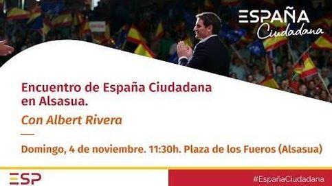 Sigue en directo el acto de España Ciudadana en Alsasua