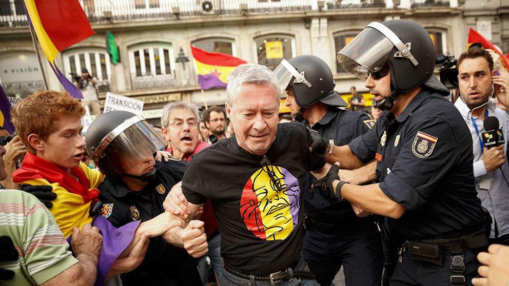 Verstrynge, en campaña con Podemos gracias a Monereo y Cañamero