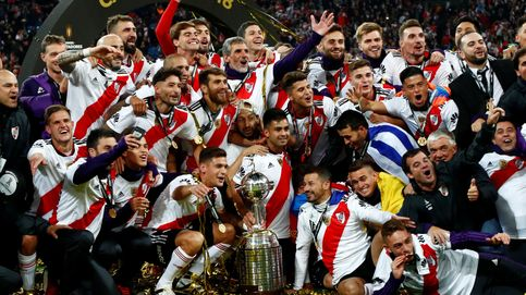 Las fotos de la tranquilidad del River Plate - Boca Juniors en la final de la Copa Libertadores