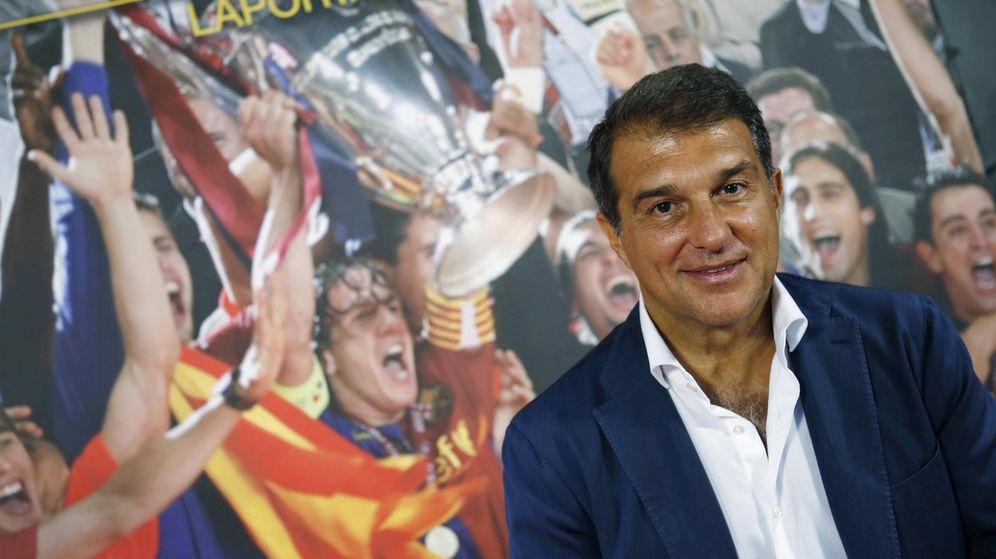 Foto: El expresidente del Barcelona Joan Laporta. (Reuters)