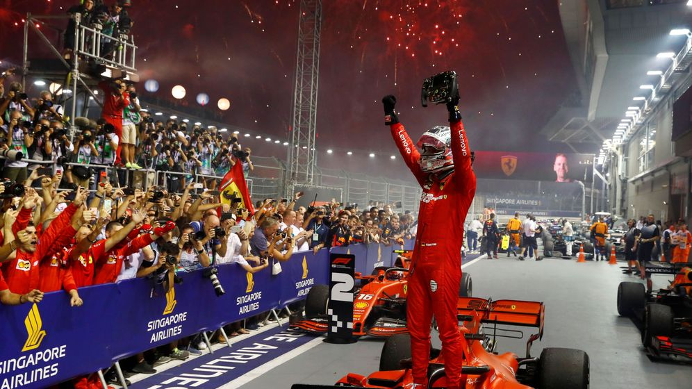 Foto: Vettel volvió a ganar un gran premio de Fórmula 1. (Reuters)