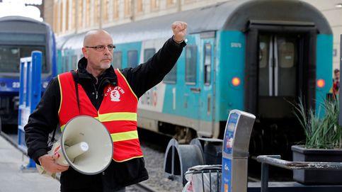 La huelga de trenes en Francia, la batalla final de los sindicatos contra Macron