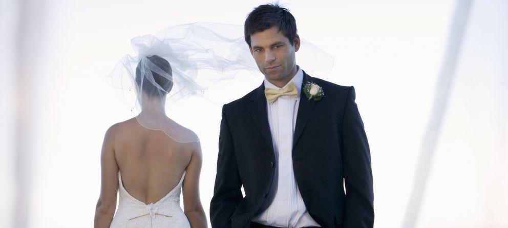 Foto: El matrimonio sería incompatible con la felicidad plena, según un estudio. (Corbis)
