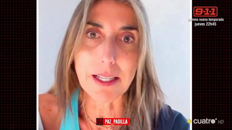 Paz Padilla, en un vídeo de Instagram. (Mediaset España)