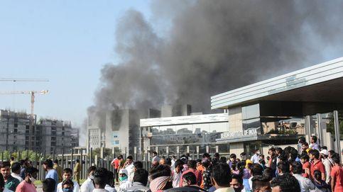 Al menos 5 muertos en un incendio en la sede del mayor fabricante de vacunas del mundo