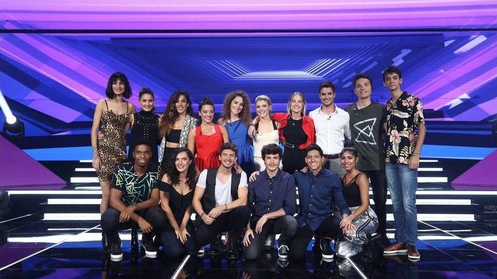 Foto: Los concursantes de 'Operación Triunfo'. (TVE)