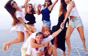 Aitor Ocio e Israel Bayón comparten vacaciones en Formentera