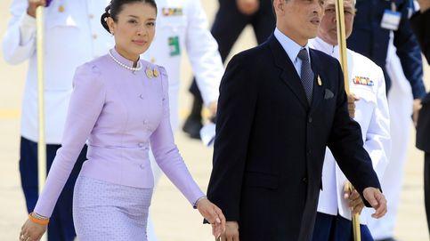 La impactante imagen de la esposa del rey de Tailandia: repudio, arresto y cabeza rapada