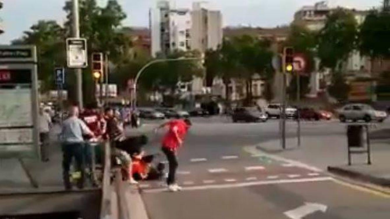 Condenan a los cinco independentistas que agredieron a tres seguidores de la Selección