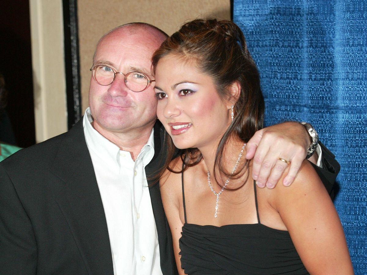 Foto: Phil y Orianne, en 2003. (Getty)