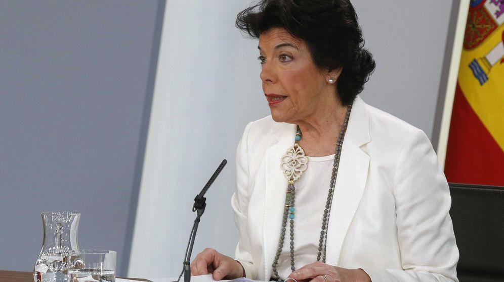 Foto: La portavoz del Gobierno, Isabel Celaá. (EFE)