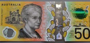 Post de Australia imprime sus billetes de 50 dólares con faltas de ortografía
