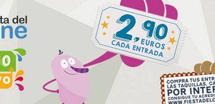 Post de Entradas a 2,90 euros en la Fiesta del Cine: del 8 al 10 de mayo
